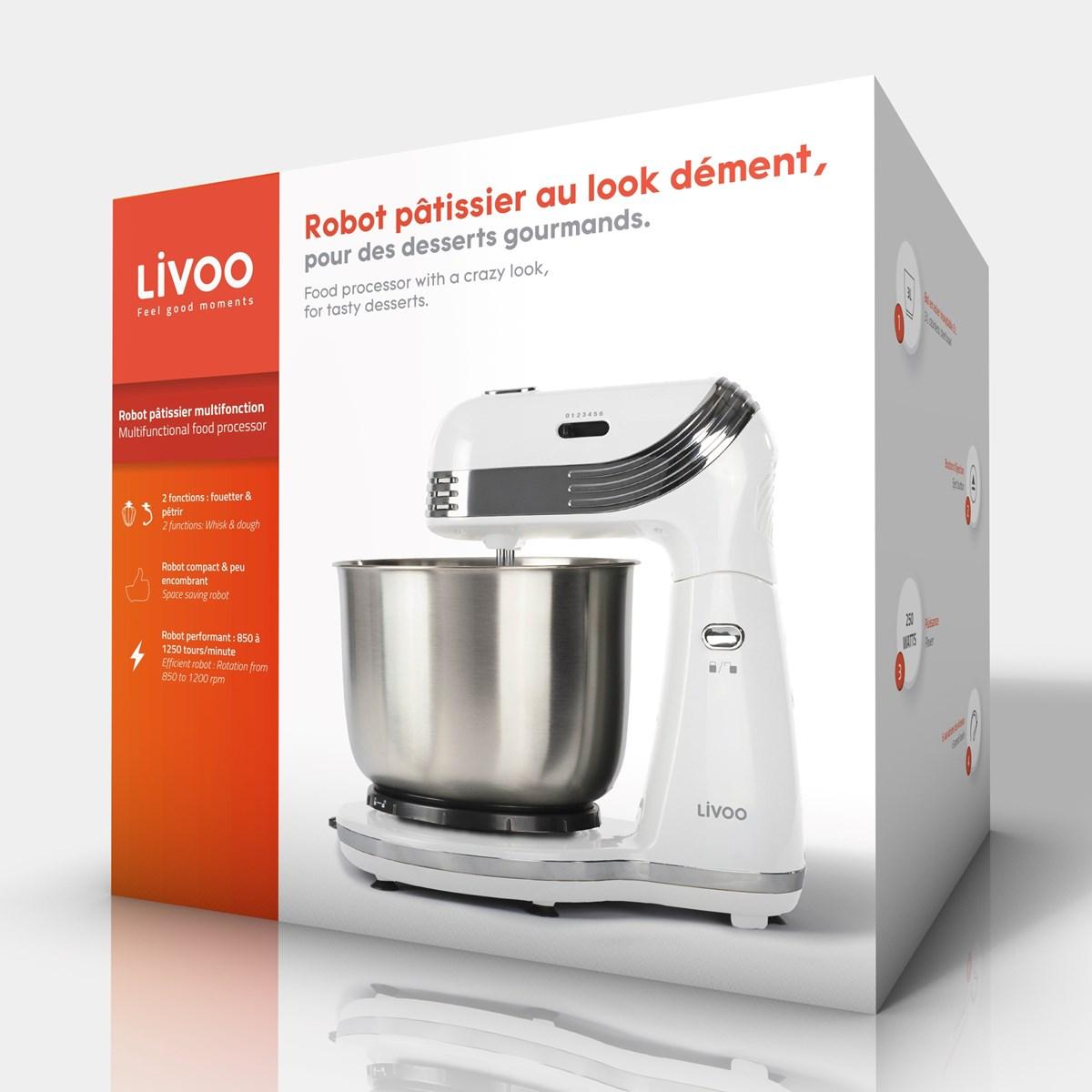 LIVOO-Robot-patissier-multifonction miniature 12